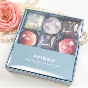 Fringe Glass Magnets 6pcs